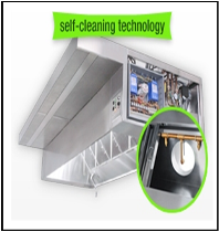 Self Cleaning Hoods